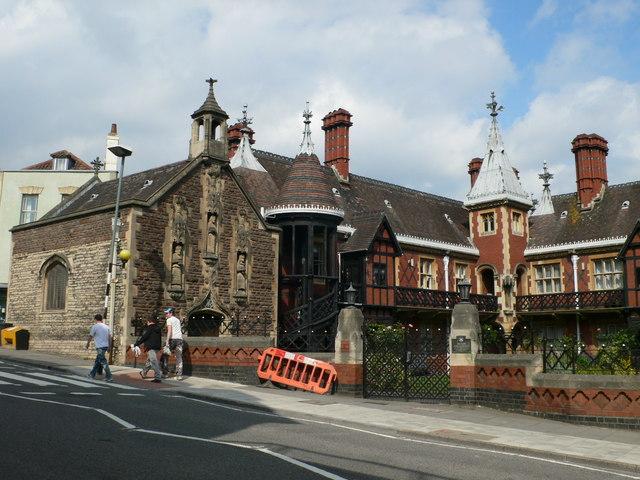 Foster's Almshouses, Colston Street