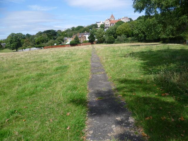 Path on Petersham Meadows