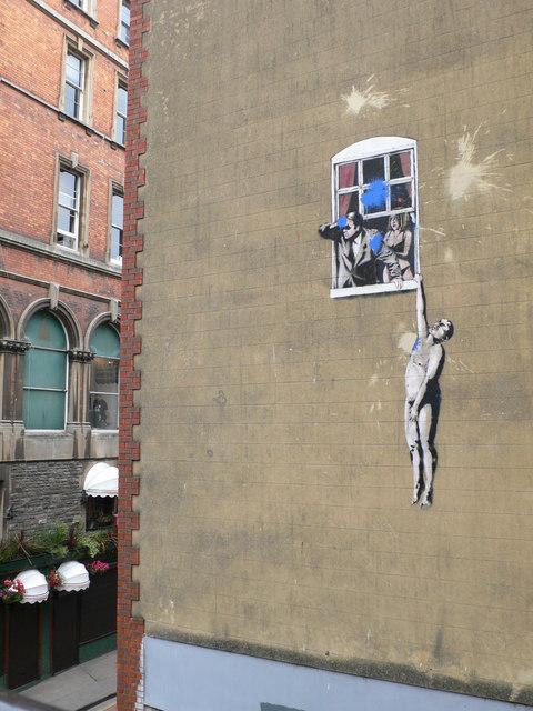 Naked Man on Park Street