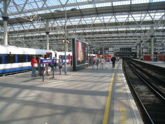 Platform 5 - London Waterloo