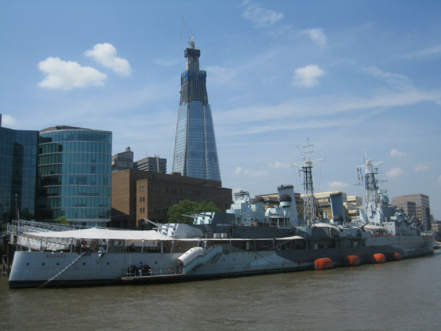 HMS Belfast / The Shard