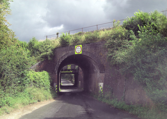 Pack Lane railway bridges