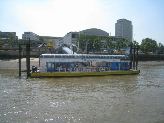 Festival Pier - The Thames