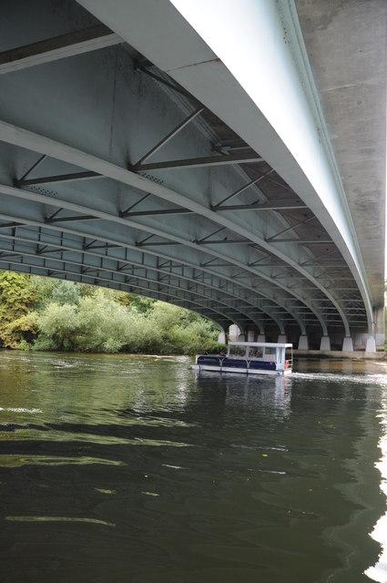 The New Thames Bridge, near Bray