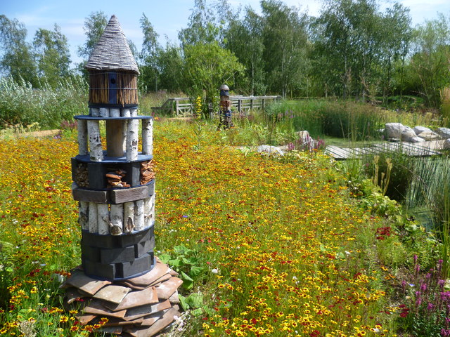 RBC Rain Garden at the London Wetland Centre