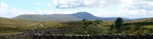 Ingleborough viewed from the Little Dale aqueduct