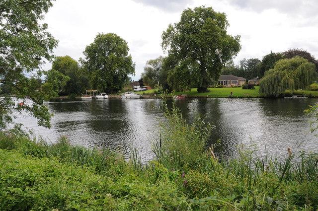 The Thames near Dorney