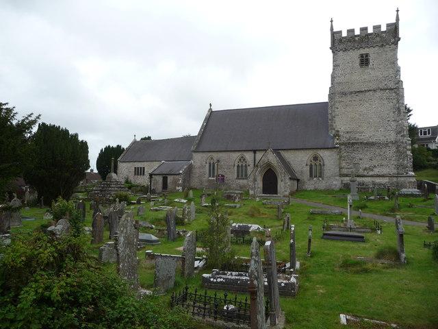 St. Bridget's church, St Brides Major