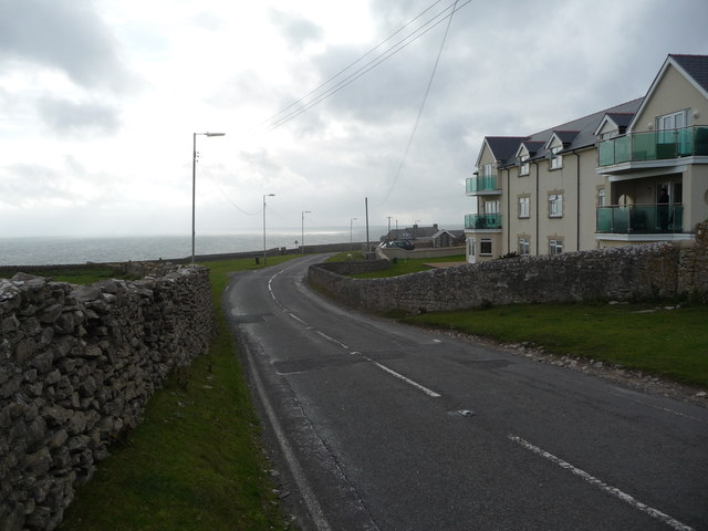 Apartments overlooking the sea near Southerndown