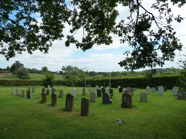 Cemetery in Church Road (b)