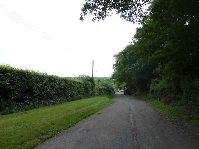 Church Road- looking east