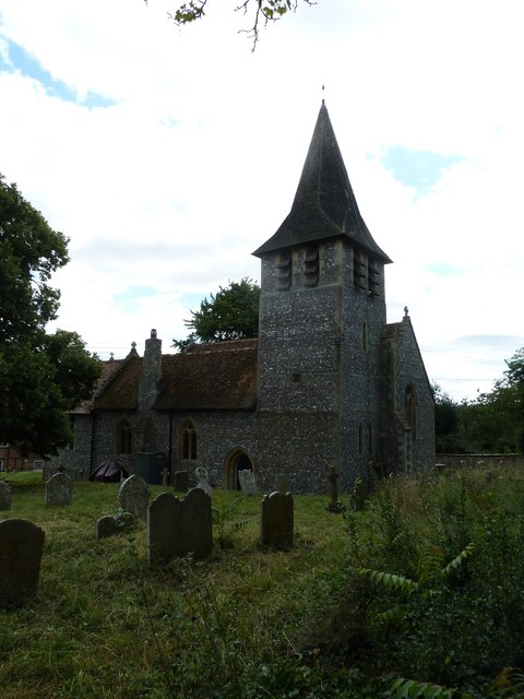 St Mary, Longstock: August 2011