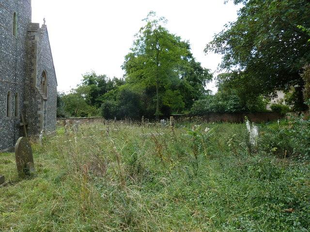 St Mary, Longstock: churchyard (ii)