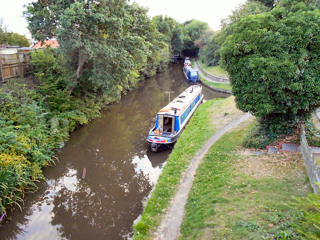 The Stratford Canal, Hockley Heath