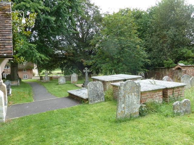 St Mary, Longstock: churchyard (iv)