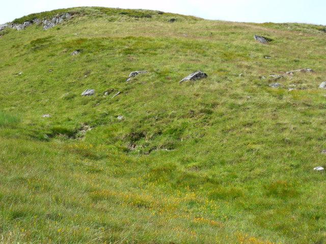 East side of Beinn Bhreac north of Loch Katrine