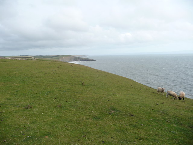 Part of the Glamorgan Heritage Coast near Dunraven Bay