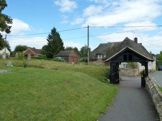 St Mary, Longstock: churchyard (v)