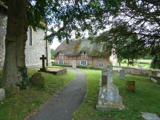 St Mary, Longstock: churchyard (vi)