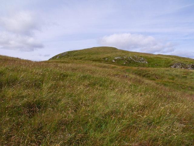 Beinn Bhreac's southern aspect