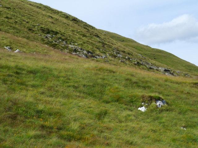 Eastern flanks of Beinn Bhreac north of Loch Katrine