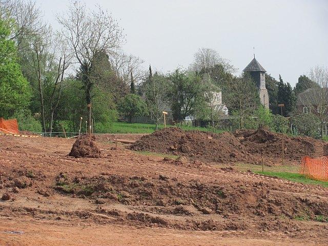 The new school, Ashford Carbonel