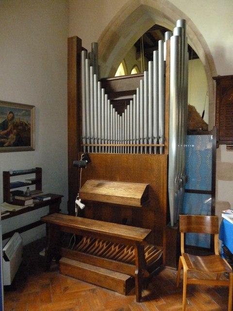 St Mary, Longstock: organ