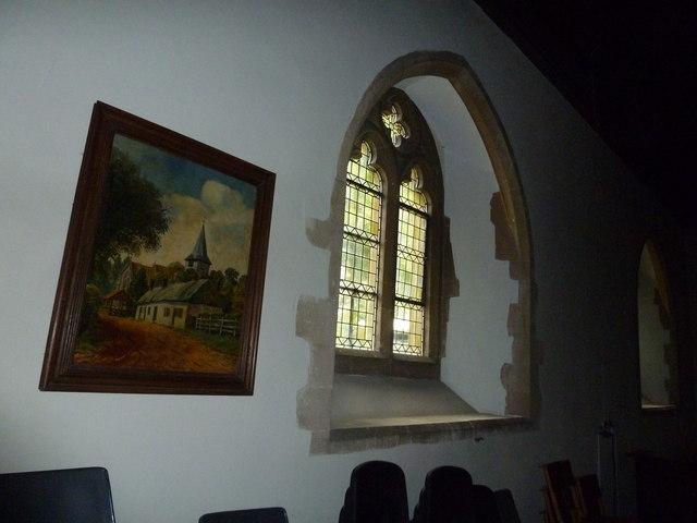 St Mary, Longstock: art work