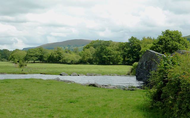Pont Gogoyan and the Afon Teifi, Ceredigion