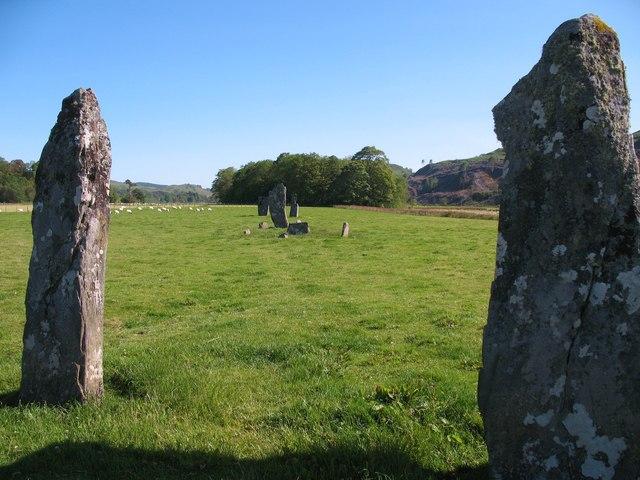 Standing stones, Slockavullin
