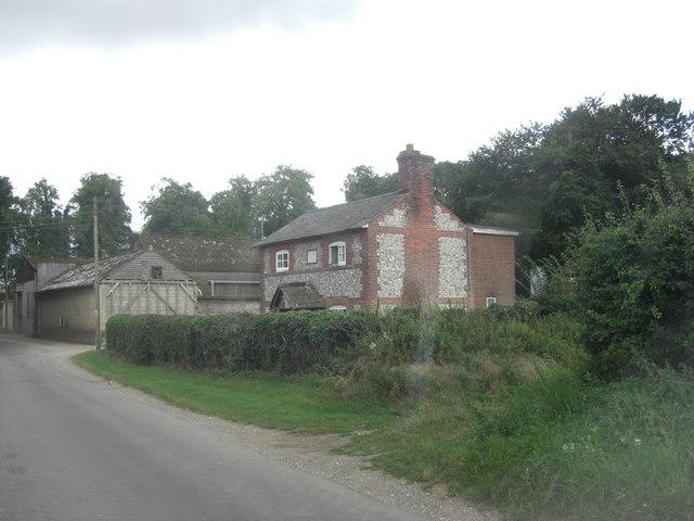 Down Farm farmhouse
