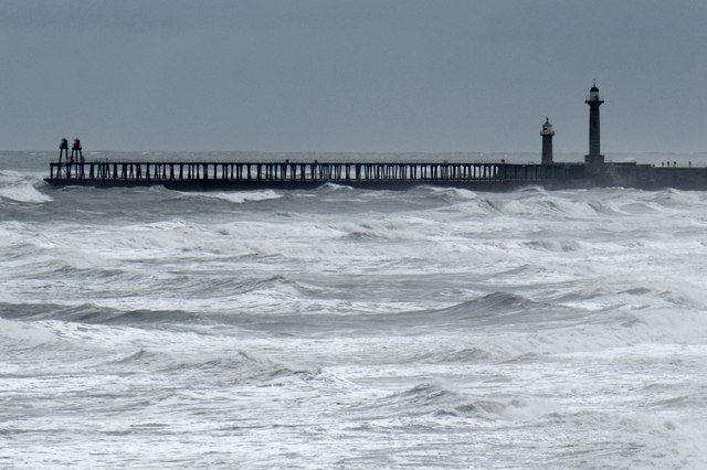 The harbour entrance, Whitby