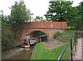 SO9262 : Bridge no. 1 on Droitwich Junction Canal, Hanbury Walk by P L Chadwick