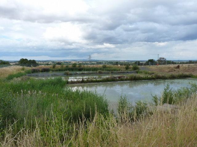 Settlement ponds