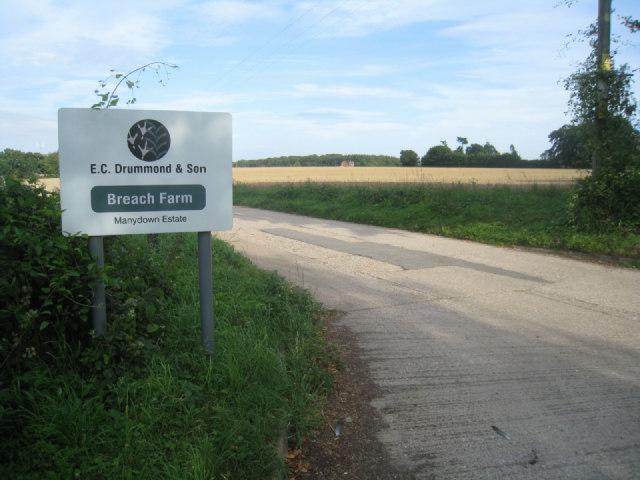 Access to Breach Farm