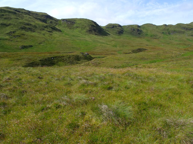 The catchment of Strone Burn near Loch Katrine
