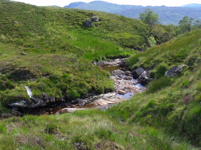 Tributary to Strone Burn near Loch Katrine