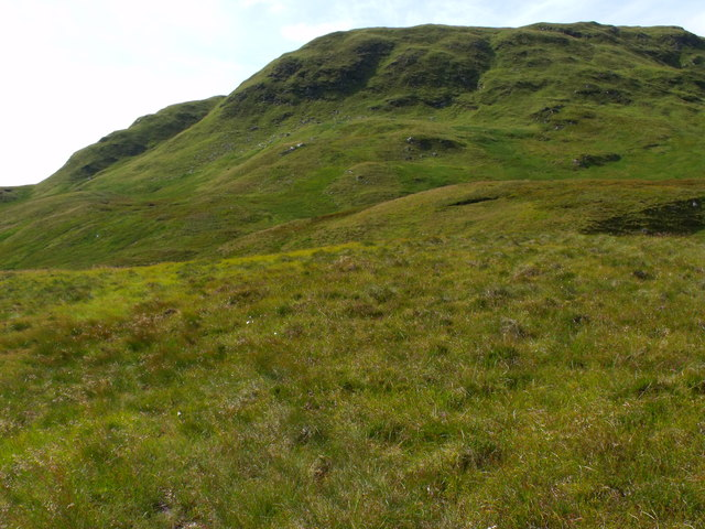 Ground to the east of Meall Gaothach near Loch Katrine