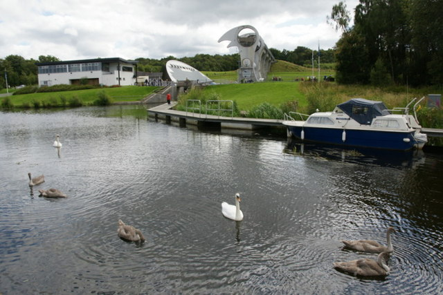 Forth and Clyde Canal and the Falkirk Wheel