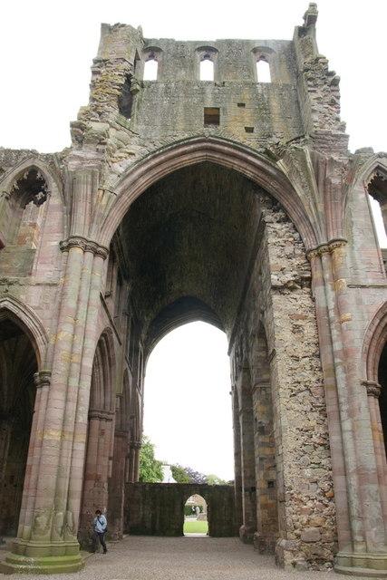 North Transept, Melrose Abbey