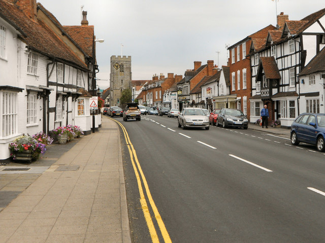 Henley-in-Arden High Street