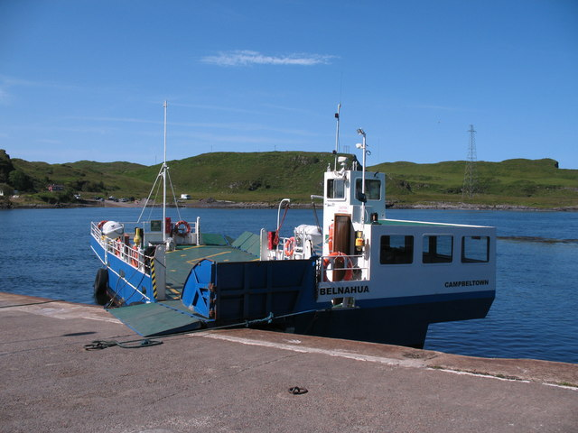 The MV Belnahua at Cuan slipway