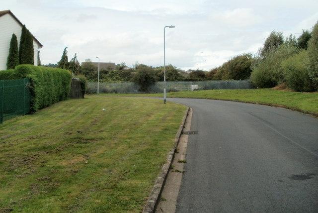 NE corner of Moorland Park, Newport