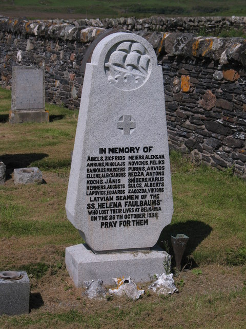 Sailor's grave, Kilchatton