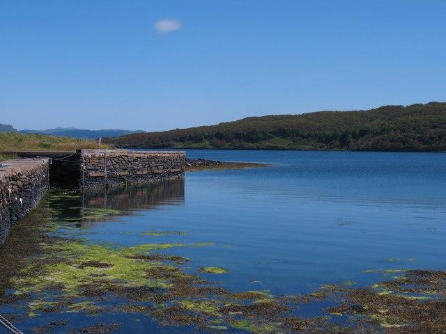 Old jetty at Toberonochy