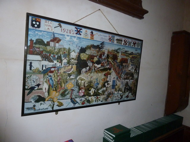 Saint Mary, Amport: parish tapestry