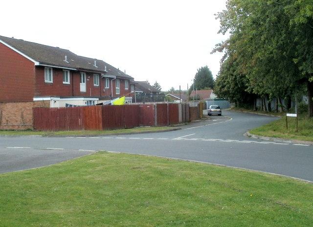 NW corner of Moorland Park, Newport