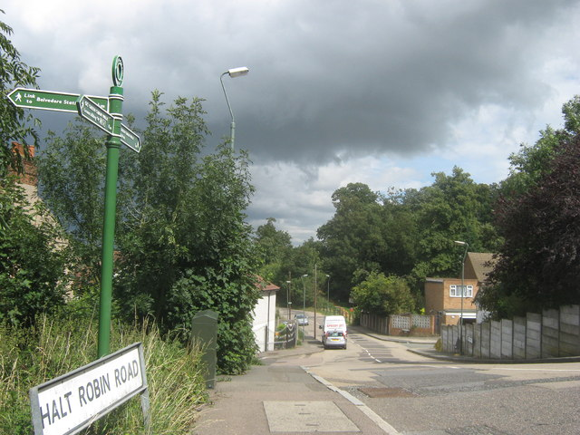 Green Chain Walk on Halt Robin Road