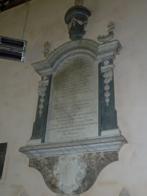 Saint Mary, Amport: memorial (E)
