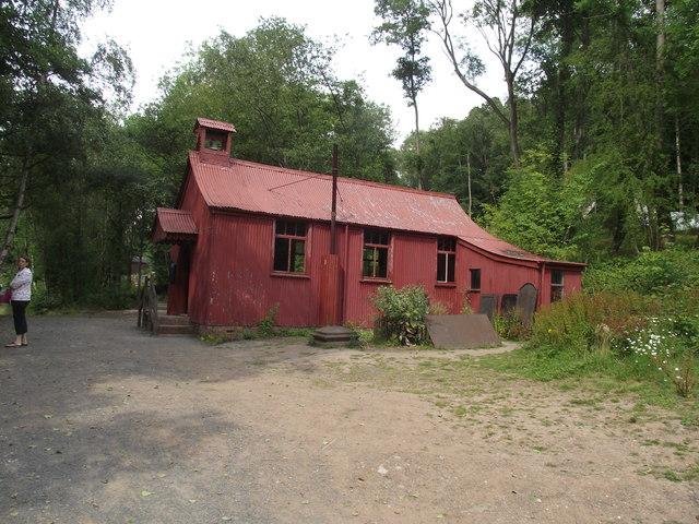 Tin Gospel  Chapel,Blists Hill Victorian Town